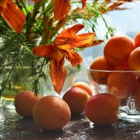 С абрикосами :: Гузель Т