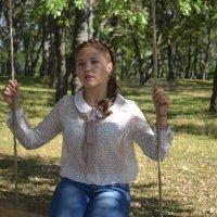 прогулка в лесу :: Алена Ошмарина
