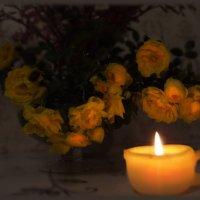 Свечка...свечечка..свеча... :: Людмила Богданова (Скачко)