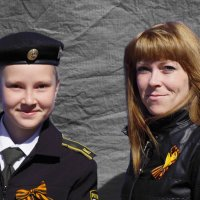 Вместе с мамой на парад! :: A. SMIRNOV