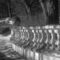 В старом парке. :: Лидия Гордеева