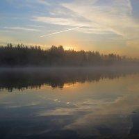 рассвет на Припяти, Беларусь :: Виктор _