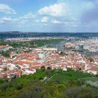 Прага с высоты Першина холма. :: Александр Борисович Панченко