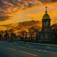 Вечерком ...(вид с Петровской набережной) :: Болеслав (Boleslav)