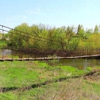 Подвесной мостик. :: Борис Митрохин