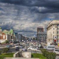 """Улица """"Красный проспект"""" в Новосибирске :: Сергей Смоляков"""