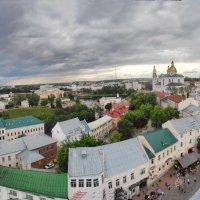 вид с ратуши (вверху с башни ) :: Сергей Минкевич