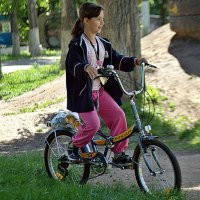 велосипедисточка :: Александр Корчемный
