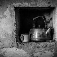 Печка, чайник и кружка... :: Евгений Осипов