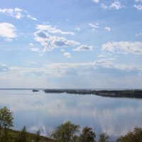 Отражение облаков :: Ольга