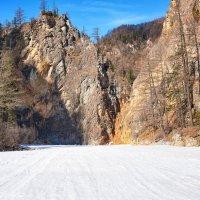 Скальник каньона Белого Иркута :: Виктор Никитин