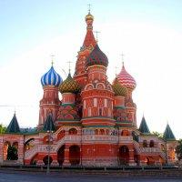 .. Москва на рассвете .. :: Арина Дмитриева