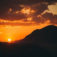 Закат над Усть-Каном :: евгения