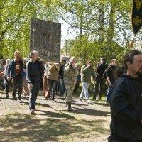 Прибытие в храм Бориса и Глеба. (№ 9) :: Андрей Синицын