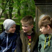 Три богатыря))) :: Екатерррина Полунина