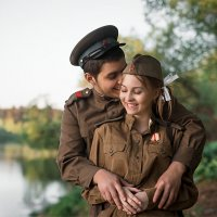 """Встреча в 45-м"" :: Галина Мещерякова"