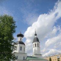 Великие Луки.Вознесенский собор.Облака... :: Владимир Павлов