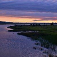 Рассвет...(река Аксай) :: владимир