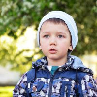 Мальчик в мае (2) :: Полина Потапова