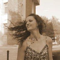 Порыв ветра. :: Anna Gornostayeva