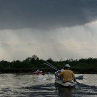 В догонялки с дождем :: Oksana Sansnom