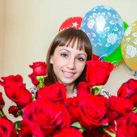 Праздник! Цветы! Шарики! :: Сергей Тагиров