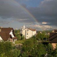 Вот такая радуга видна с моего окна. :: Игорь Бойко