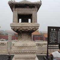 Пекин, Запретный город, мерная чаша :: Сергей Смоляр