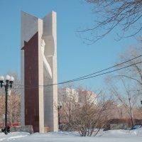 Памятник погибшим войнам-интернационалистам :: Артём Пышкин
