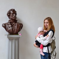 Портрет с А.С. Пушкиным :: Виктор Шандыбин