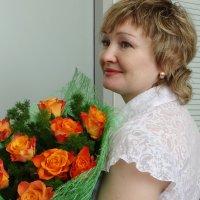 День Рождения на работе. :: Елена Тренкеншу
