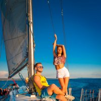 двое в лодке :: gremlynann Анна Артемьева