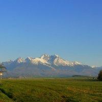 Рано утром. Татры Высокие, Словакия. :: Tatiana Golubinskaia