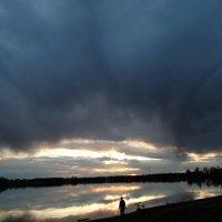 закат над озером :: Alla Swan