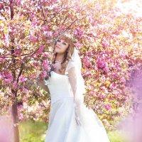 Свадьба с цветущих садах :: Фотохудожник Наталья Смирнова