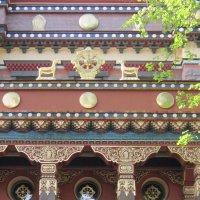 Буддийский храм. Петербург. 1909 год :: Маера Урусова