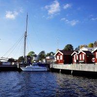 Dalarö Швеция :: Alm Lana