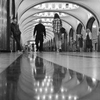 метро :: Наталия Рискина