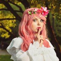 Девочка с розовыми волосами :: Татьяна Семёнова