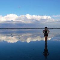 Малиновое озеро на закате. Алтай 2015 год. :: Маргарита Кириллова