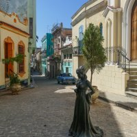 В стороне от тур.маршрута.... Гавана, Куба :: Юрий Поляков