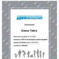 Спасибо! :: Елена Фалилеева-Диомидова