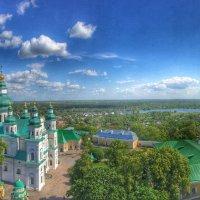 Троицко-Ильинский монастырь. Вид с колокольни. :: Анатолий Петришин