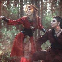 Лисица и Медведица :: Мария Дергунова