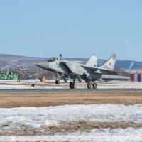 Посадка (МиГ-31) :: Ivan Kozlov