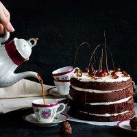 Чаепитие с тортом :: Наталья Мелихова