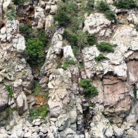 Скалы вблизи (Адалары. Гурзуф, май, 2016 г.) :: Ольга Иргит