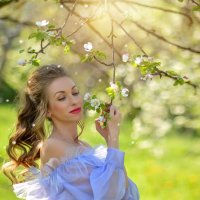 Прикосновение весны :: Еления Харченко