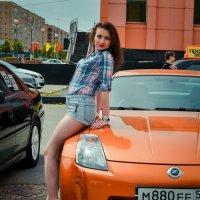Ниссан 350z :: Анастасия Жигалёва