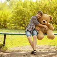 Катя и медведь :: Татьяна Костенко (Tatka271)